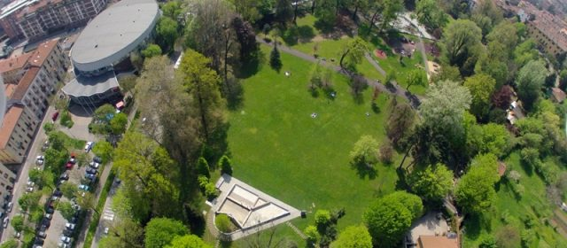 The lower town: to the discovery of green spaces and monuments between late 1800 and early 1900