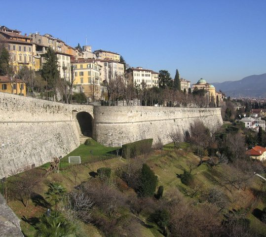 Slow walk along the Venetians walls
