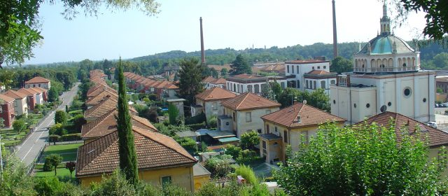 The workers village of Crespi d'Adda